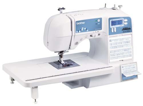 Limited Edition Project Runway Sewing Machine with 100 Built-in Stitches and Quilting Table,