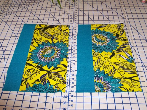 Pin wrong sides together to sew