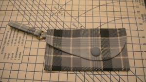Completed wristlet