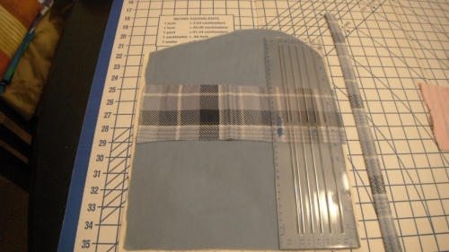 Inside pocket pattern
