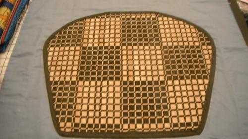 Placemat cutout