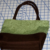 Creme de Menthe Purse Tutorial