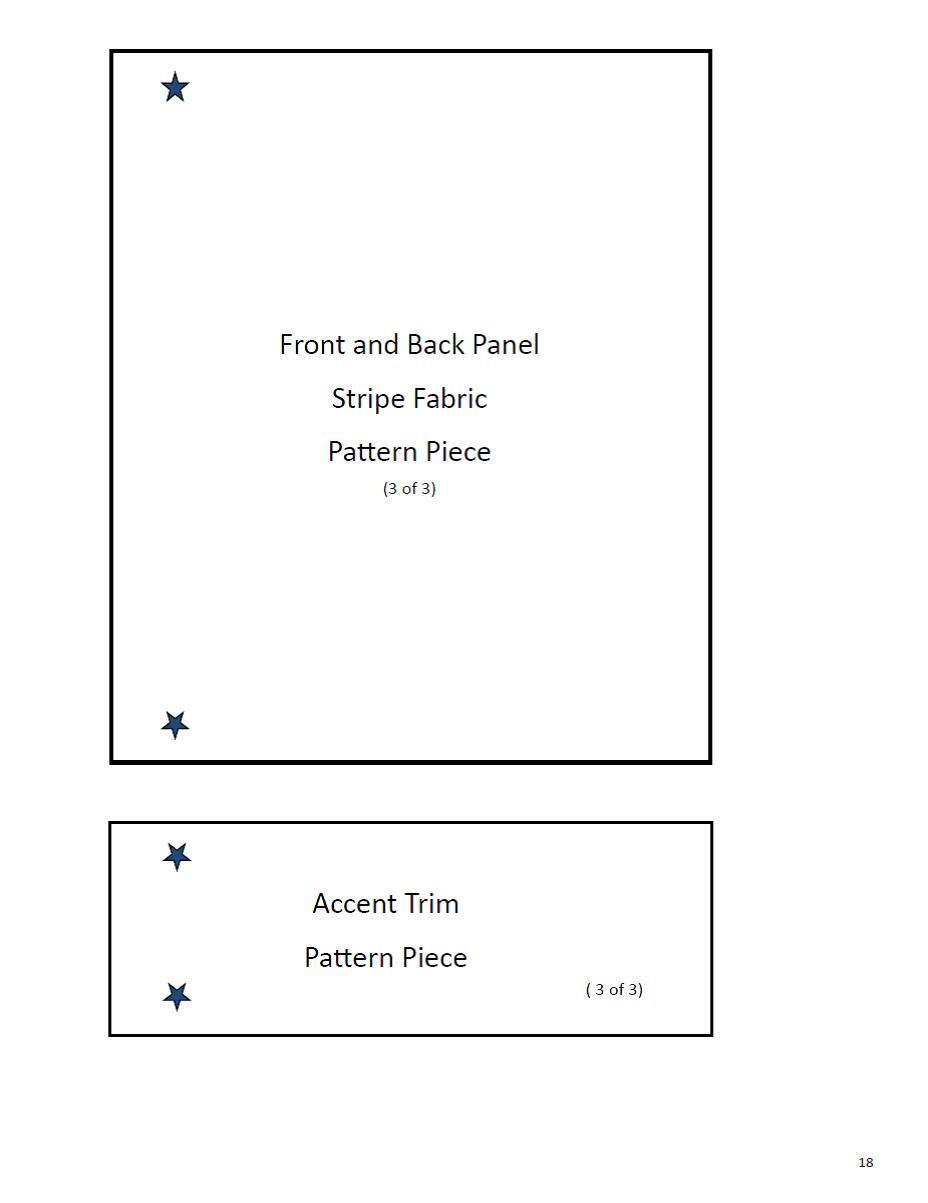 pattern piece