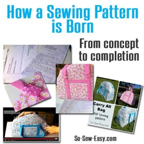 Sewing Tip- How to Design a Sewing Pattern