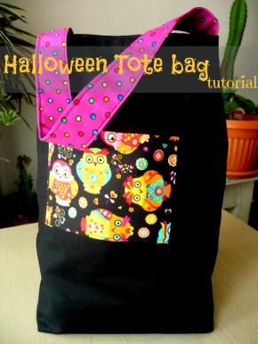 Sewing Tip-Halloween Tote BagTutorial