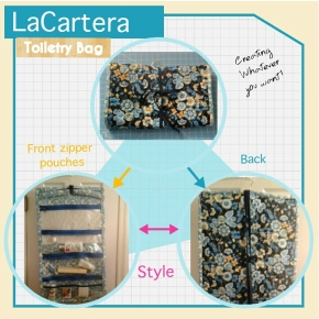 Quilted Toiletry Bag-Hit or Miss? Fab orDrab?