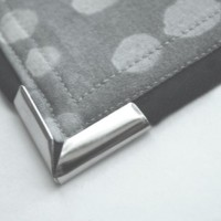 Sewing Tip- How to Apply Metal Corners on Purse Flaps
