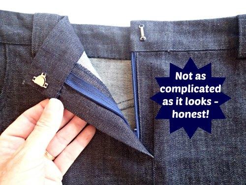Fly Front Zipper Video -https://lacarteradesigns.com/2015/07/30/sewing-tip-how-to-sew-a-fly-front-zipper-video/