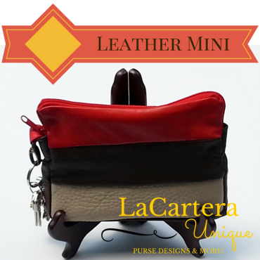 Leather Mini - Clutch/Wallet - http://wp.me/p2ZX0M-ZH