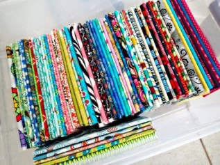Use Magazine Boards to Orgainze Fabric - http://wp.me/p2ZX0M-ZB
