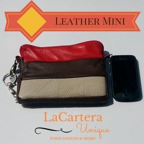 Friday Spotlight- Leather MiniClutch