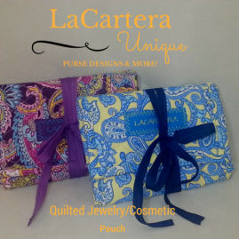 Tutorial - https://lacarteradesigns.com/2015/10/30/tutorial-quilted-trifold-three-zipper-pouch/