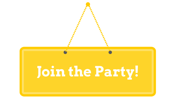 join the party, -