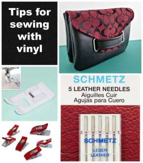 Sewing Tip- How to sew WithVinyl