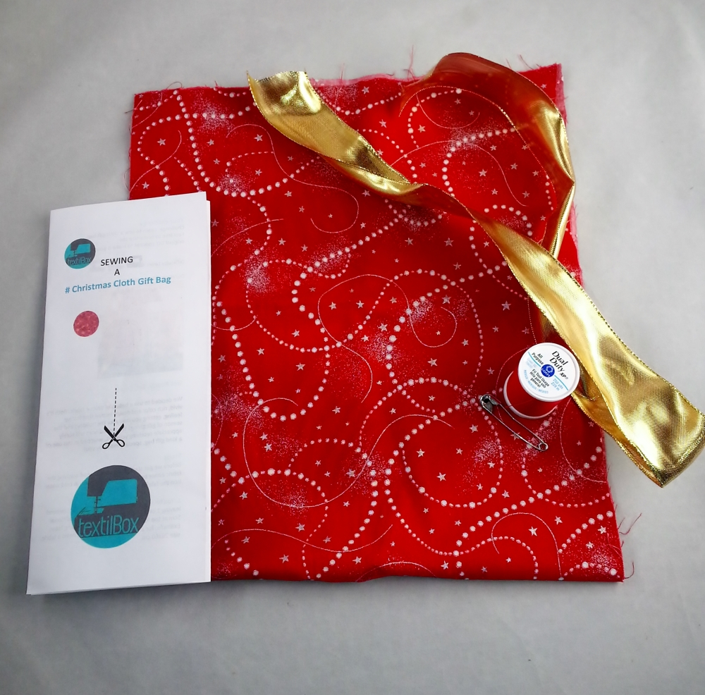 LaCartera - Textilbox holiday sewing project