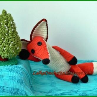 The Little Prince - http://lalkacrochetka.blogspot.com/2015/12/fox-little-prince-lis-may-ksiaze.html