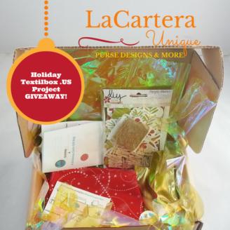 Holiday Textilbox Giveaway! - https://lcartera.wordpress.com/2015/12/06/holiday-textilbox-us-giveaway/