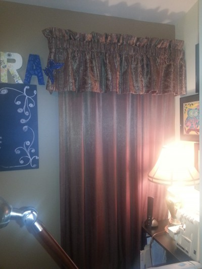 Valance Before
