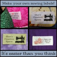 Sewing Tip- How to Make Custom Sewing Labels