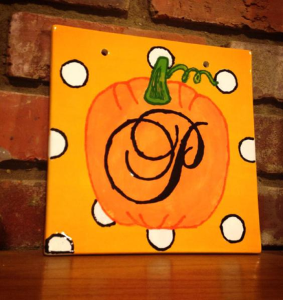 Monogram Pumpkin tile - https://kreativedoting.wordpress.com/2013/08/01/monogram-pumpkin/?blogsub=confirmed#blog_subscription-5