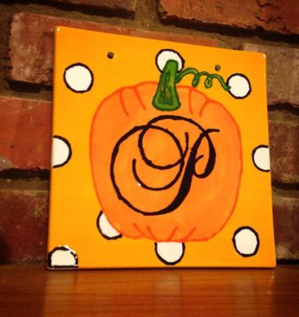Monogram Pumpkin tile - https://kreativedoting.wordpress.com/2013/08/01/monogram-pumpkin/?blogsub=confirmed#blog_subscription-5