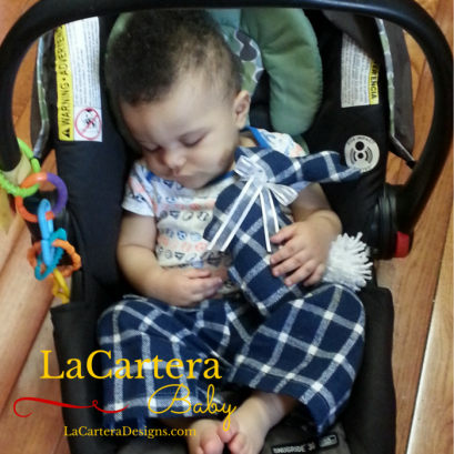 Pajama Pants & Matching Bunny -https://lacarteradesigns.com/2016/03/07/baby-style-pajama-pants-and-matching-bunny/
