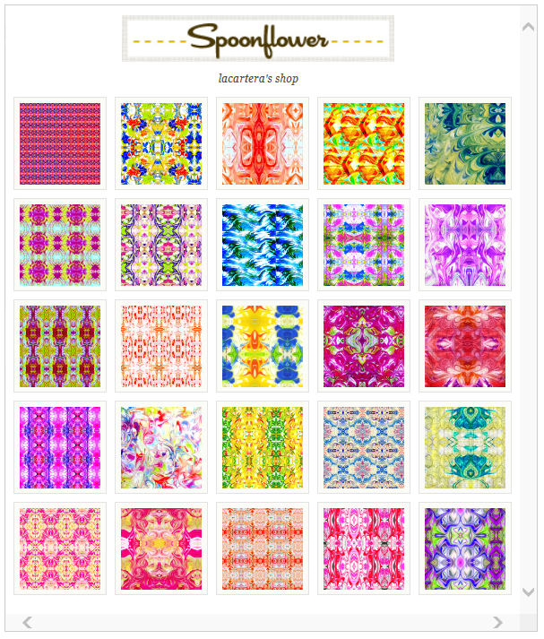 Spoonflower shop
