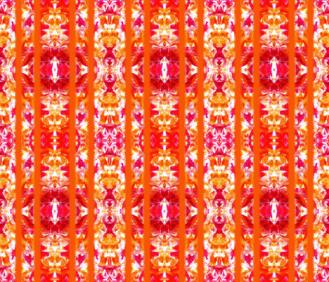 Orange Ribbon - http://www.spoonflower.com/fabric/5392027-orange-tile-by-lacartera
