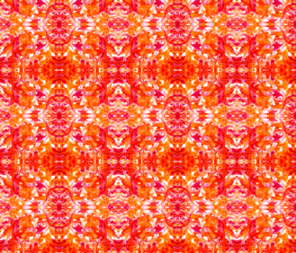 Orange Tile -http://www.spoonflower.com/fabric/5392027-orange-tile-by-lacartera
