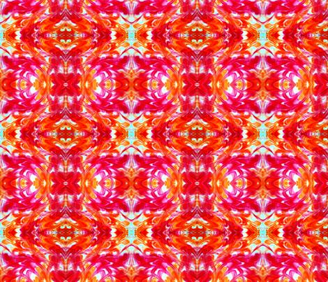 Sound Wave -http://www.spoonflower.com/fabric/5392027-orange-tile-by-lacartera