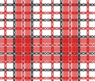 XOXO - Betabrand Double Take Challenge - https://lacarteradesigns.com/2016/07/25/design-challenge-voting-ends-soon/