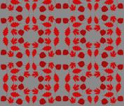 Red Mini Leaves