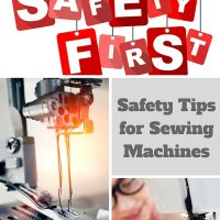 13 Sewing Safety Tips!