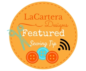 Sewing Tip button