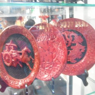An unusual china pattern