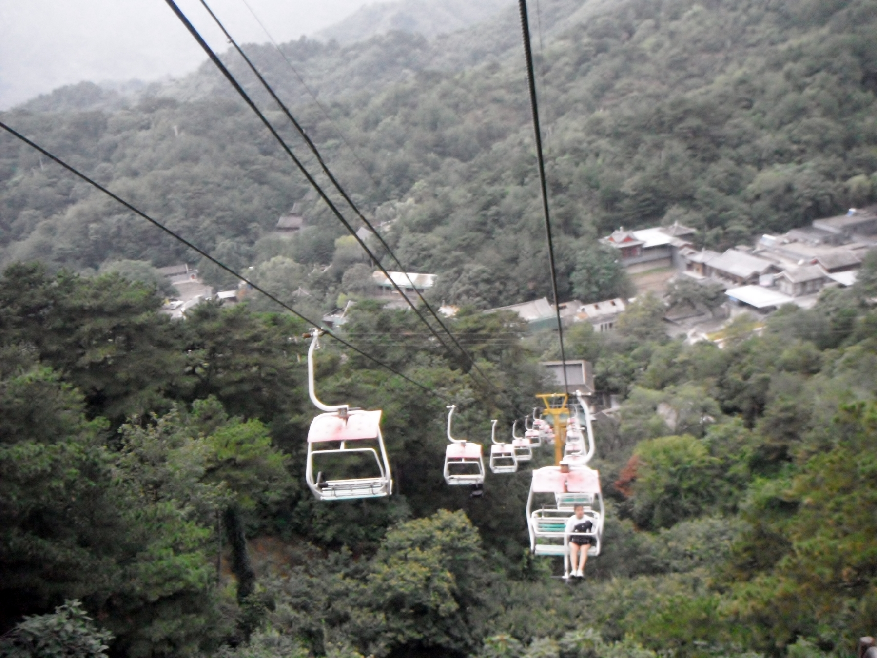 Chair lift to the Great Wall