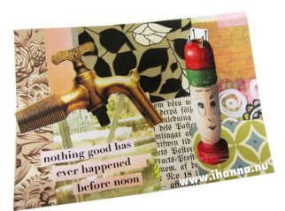 DIY Collage Post Cards - by iHanna's Blog - http://www.ihanna.nu/blog/2016/10/postcard-tutorial-video-fall-color-inspiration/