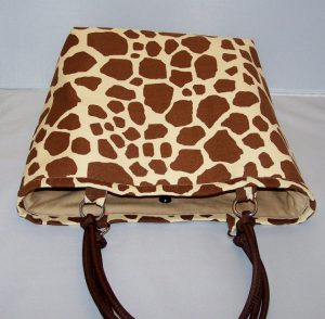 http://www.lacarteradesigns.com/listing/166357629/giraffe-print-tote-bag