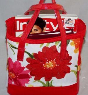 http://www.lacarteradesigns.com/listing/182928307/red-tropical-explosion-handbag