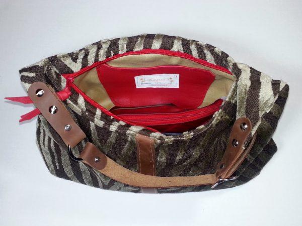 Hobo Handbag inside slip pocket