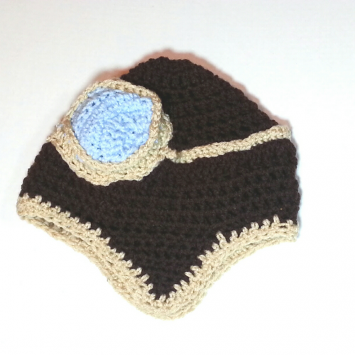 LaCartera Kids ? Crochet Aviator Hat- Free Pattern