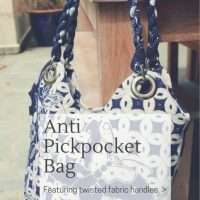 Sewing Tip - DIY Anti-Pickpocket Handbag