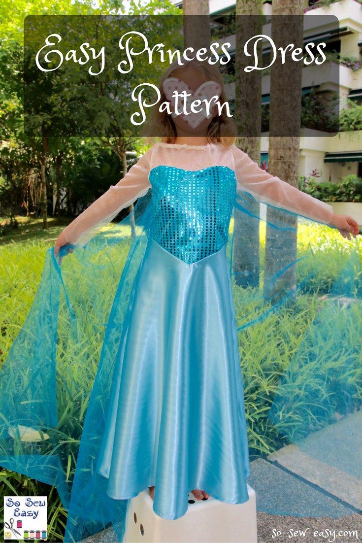 Sewing Tip Free Easy Princess Dress Pattern Lacartera