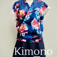Sewing Tip - Free Kimono Top Pattern and Tutorial