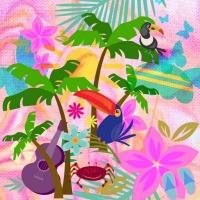 Textile Design Challenge - Bohemian Paradise