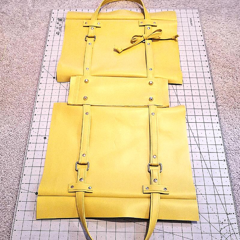 full bottom bag