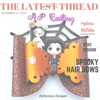 The Latest Thread ~ Spooky Hair & XOXO Campaign