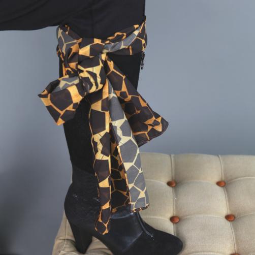 giraffe scarf