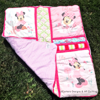 Minnie Mouse Baby Quilt- Holiday Giveaway!