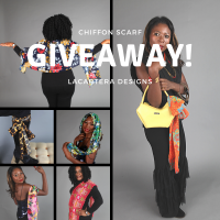 Chiffon Scarf Update-Holiday Giveaway!